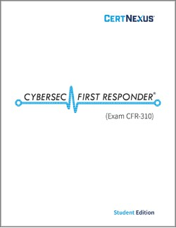 CyberSec First Responder CFR-310: Courseware + Voucher