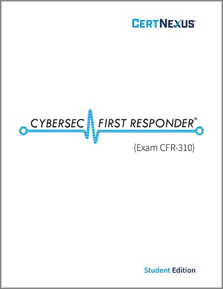 CyberSec First Responder CFR-310: Courseware + Voucher