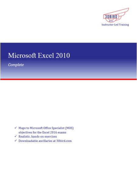 Excel 2010 Complete
