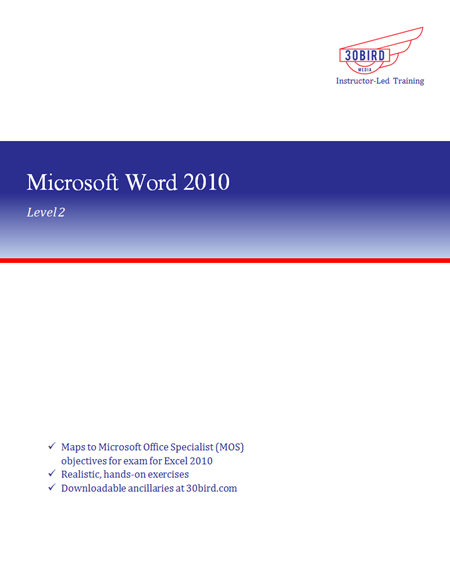 Word 2010 Level 2