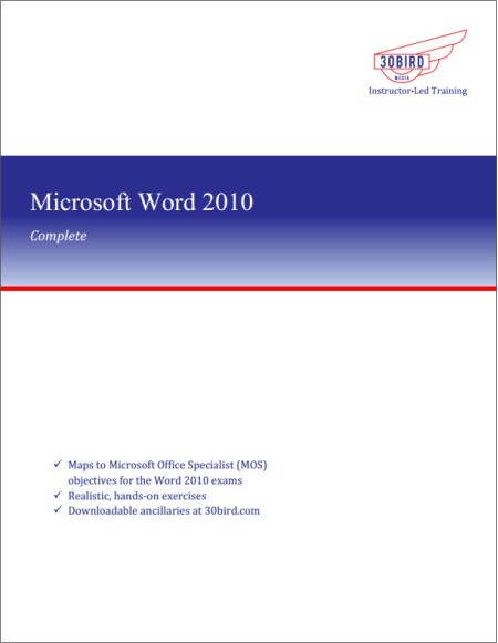 Word 2010 Complete