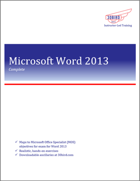 Word 2013 Complete