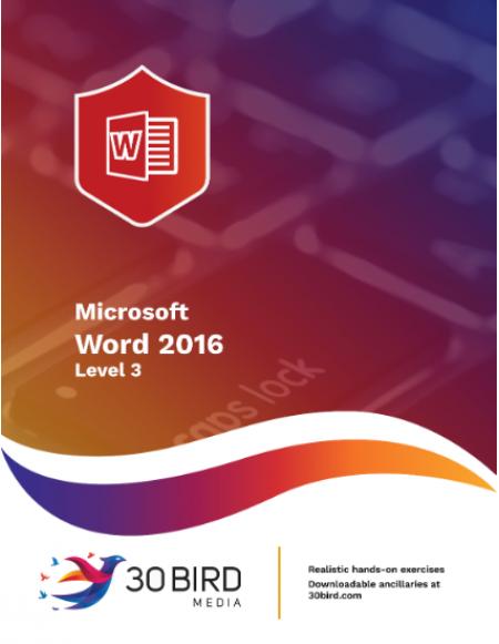 Word 2016 Level 3 R2.0