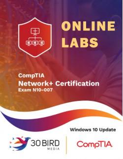 CompTIA Network+ Certification N10-007, Windows 10 Update ONLINE LABS